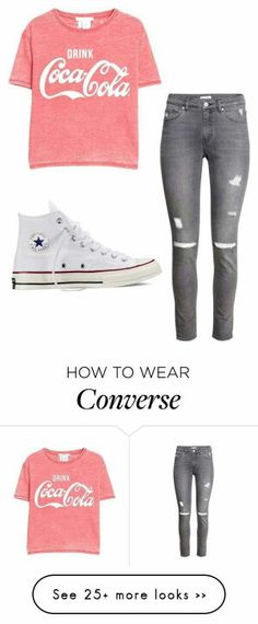 Love this casual outfit! It's so cute! Cute Outfits For School, Outfits For Teens, Fall Outfits, Casual Outfits, Summer Outfits, Teen Girl Outfits, Casual Shirt, How To Wear Converse, Outfits With Converse