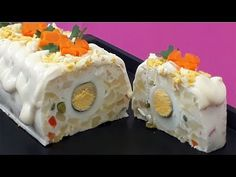 SALATA RUSEASCA - pentru anul nou - YouTube Tasty, Yummy Food, Sour Cream, Sushi, Diy And Crafts, Frozen, Facebook, Cooking, Ethnic Recipes