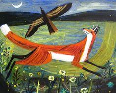 Mary SUMNER - Fox and Bird
