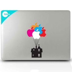 Mac Decal Sticker for your computer laptop board or wall UP House Decal 2 - Apple Computer Laptop - Ideas of Apple Computer Laptop - Mac Decal Sticker for your computer laptop board or wall UP House Decal 204 Mac Stickers, Mac Decals, Apple Stickers, Macbook Stickers, Macbook Decal, Macbook Case, Laptop Decal, Mac Laptop, Phone Decals