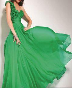 Green Formal Dress Green Prom Dress Evening Dress by LUXandGLAMOR,  170.00 Abiball  Kleider, Kleider 3f33718cf0