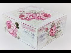 How to make a decoupage box - Easy Tutorial - DIY - YouTube