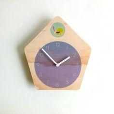 Objectify Modern Cuckoo Wall Clock with by ObjectifyHomeware