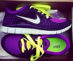 the perfect shoes.. purple and green<3 the best colors that could ever go together!
