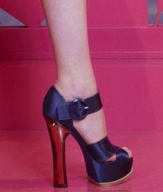 Louis Vuitton Resort 2013 Platform Sandals.