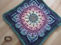 Demelza blanket flat square #1