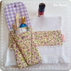 Porta alicate e toalhinha