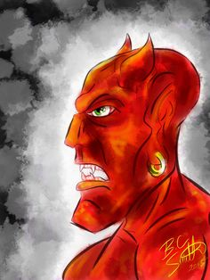 The Devil by B.C. Smith 2013 - Created In #procreateapp