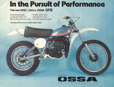 1976- OSSA Advertisement
