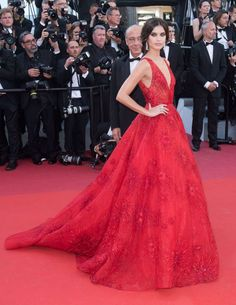 Sara Sampaio en el Festival de Cine de Cannes 2017