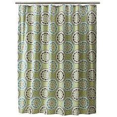 Threshold™ Shower Curtain Medium - Blue/Green