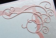 Elegant Scroll-work with Memory Box Dies and Butterfly Chain border