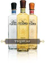 El Tesoro Tequilas...Keep the Paradiso under wraps.