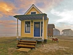 Built from salvaged materials, no two of the homes from Luling, Texas-based Tiny Texas Houses, which start at 120 square feet, are alike.