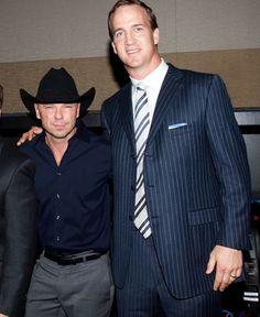 Peyton manning dating kenny chesney