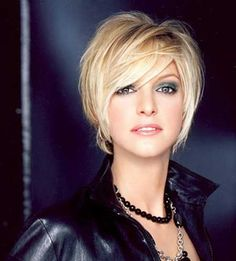 2013 Short Blonde Hairstyles | 2013 Short Haircut for Women