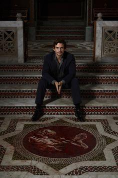 Hannibal BTS: Hugh Dancy (Will Graham)