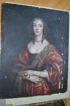 Anthony Van Dyck, Anne Carr, 1630