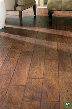 Milverton Laminate Flooring lasts a lifetime. Made of 70% recycled content, this lovely laminate flooring is extremely durable and very easy to clean. And, through time-honored techniques, each plank is painstakingly created to replicate the look and feel of real wood.