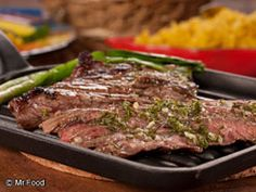 Today's Mr. Food recipe: Garlic Lovers Steak