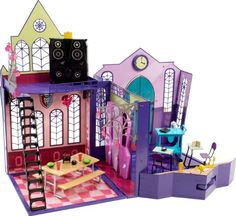 Monster High High School Playset - http://www.kidsdimension.com/monster-high-high-school-playset/