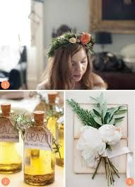 using herbs for wedding decoration - Google Search