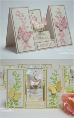 Aspiring to Creativity: Double Sided Step Card Tutorial