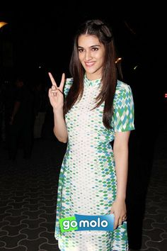 Kriti Sanon at the Screening of Hindi movie 'Dilwale' at PVR ICON in Versova, Mumbai