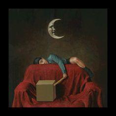 Masaru Shichinohe was born in 1959 in Japan. The main theme of creativity Masaru Shichinohe are children, fairy tales and Fringe Arts, Degenerate Art, Mystic Moon, Main Theme, Japanese Art, Dark Art, Contemporary Artists, Illustration, Fairy Tales