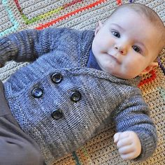 Henry's Sweater free knitting pattern and more baby cardigan knitting patterns