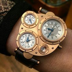 The amazing Vianney Halter, Antiqua on the wrist of a lady. Steampunk Watch, Watches, Luxury, Instagram Posts, Accessories, Uae, Dapper, Ootd