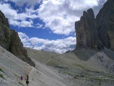 Panoramaweg in den Sextner Dolomiten