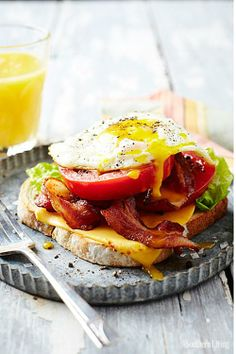 BLT with Egg and Cheese