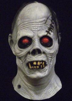 albino ghoul halloween mask httpwwwtrickortreatstudioscomalbino_ghoul_full_head_halloween_mask - Creepy Masks For Halloween