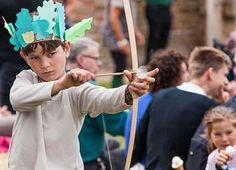 Narnia themed Christmas Fair with Archery