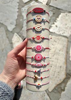 Handmade bracelets, gold plated and metal elements, eooden elements, cords, tassels! Handmade Bracelets, Beaded Bracelets, Cords, Facebook Sign Up, Leather Sandals, Tassels, Greek, March, Metal