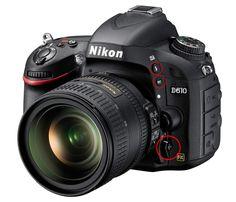 Nikon D610 Front Left