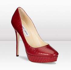 #red shoes