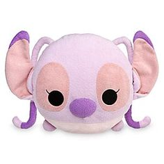 Angel ''Tsum Tsum'' Plush Pillow | Disney Store Snuggle up in comfort with this ''Tsum Tsum''-styled character pillow! Featuring our impulsive space invader, Angel, this soft plush head cushion will land dreams of starry-eyed adventure.