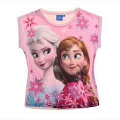 Girls Disney Frozen Fever T Shirt