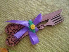 MissFelicidade Lembrancinhas-Atelier da Tati: talher miniatura em mdf para chá de cozinha