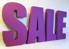big-purple-sale-letters-1000high-100mmthick