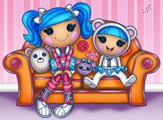PPG Lalaloopsy: Tuffet Miss Muffet by ~thweatted on deviantART