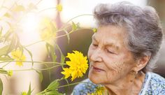 Seniors and caregivers improve health and mood with Aromatherapy Stress Relief.