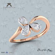 Love comes in different colors.. we're thinking rose gold that will last you a lifetime ❤ #ring #diamond #gold #ecommerce #onlineshop #goldring #diamondring
