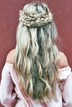 Cutest and Most Beautiful Homecoming Hairstyles ★ See more…