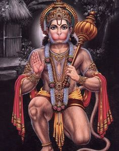 Blessing Hanuman in Veerasan Hanuman Jayanthi, Hanuman Tattoo, Hanuman Photos, Hanuman Images, Ganesh Images, Durga Maa, Hanuman Ji Wallpapers, Yoga, Lord Ganesha Paintings
