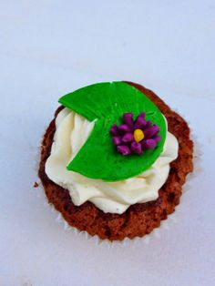 cupcake nénuphar la princess et la grenouille disney