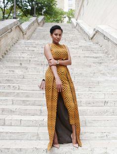 Scheena.com African Dresses For Women, African Attire, African Wear, African Fashion Dresses, African Women, Maxi Styles, Ankara Styles, African Print Fashion, Fashion Prints