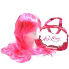 Nicki Minaj Pink Wig - THE 10 WEIRDEST PIECES OF MERCH EVER SOLD BY RAPPERS